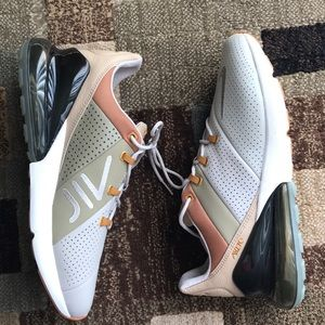 Nike air max 270 leather sneakers